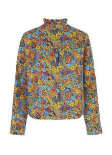 Mads Nørgaard Liberty Sadolin Denim jakke i multi