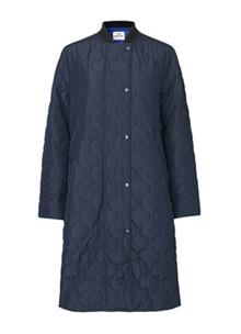 Mads Nørgaard Ripstop Quilt Campy jakke i navy