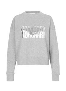 Mads Nørgaard Tilvina sweatshirt i grå