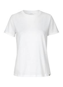 Mads Nørgaard Trimmy T-shirt i hvid