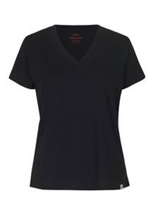 Mads Nørgaard Trimmy V T-shirt i sort