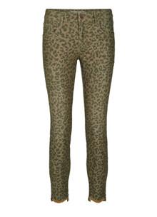 Mos Mosh Sumner Leopard jeans i leo print