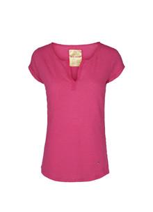 Mos Mosh Troy Tee T-shirt ss i pink
