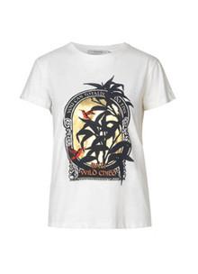 Munthe Aqua T-Shirt i hvid