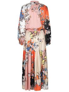 Munthe Arizona silke kjole i orange