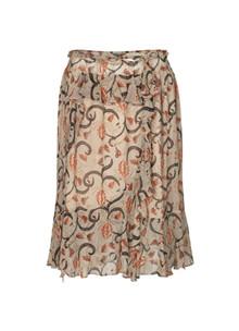 Munthe Astonish nederdel i brun m. mønster