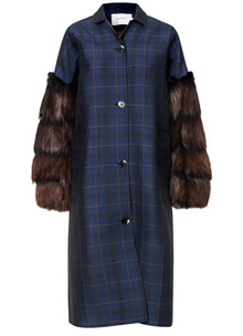 Munthe Vertical jakke i navy