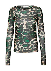 Munthe Voucher bluse i grøn
