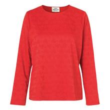 Mads Nørgaard Shazzy bluse i rød