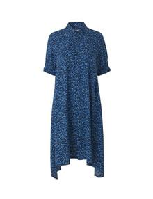 Mads Nørgaard Leo Jungle Dancella kjole i blå