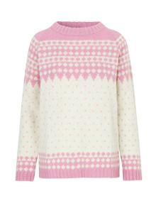 Mads Nørgaard Iceland Kanona uld strik i lyserød