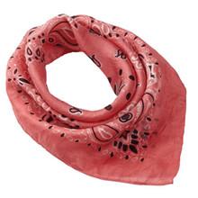 Malene Hocke silke bandana i bubblegum