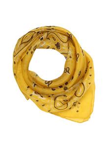 Malene Hocke silke bandana i gul