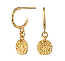 Maanesten Mathilde øreringe i guld