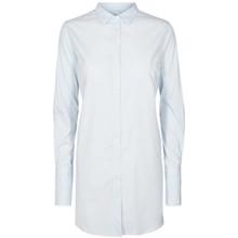 Mos Mosh Catrina oversize skjorte i lys blå