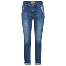 Mos Mosh Etta Glam jeans i blå
