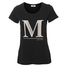 Mos Mosh Riva T-shirt i sort