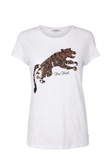 Mos Mosh Mega T-shirt i hvid
