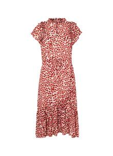 Munthe Jess kjole i rød leo print