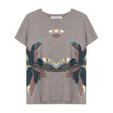 Munthe Opa T-shirt i grå