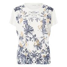 Munthe Sapphire T-shirt i hvid m. print