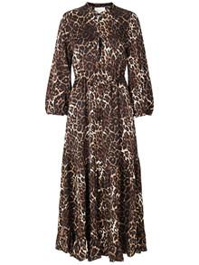 Munthe Vest kjole i leo