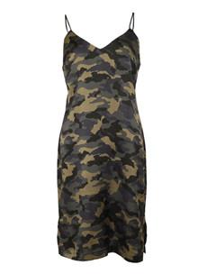 Neo Noir Justine kjole i army