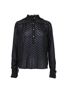 Neo Noir Viki Bumout skjorte i sort