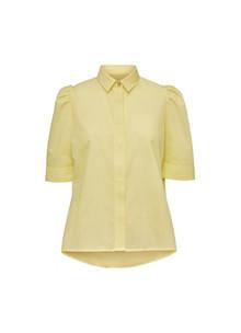NORR Billie skjorte i gul