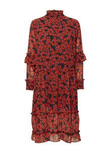 NORR Dagma kjole i rød