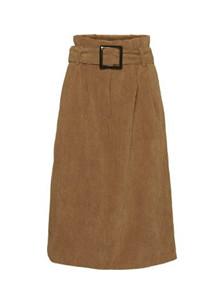 NORR Penelope nederdel i brun