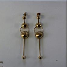 NORR by Erbs Linea ørering i guld