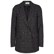 Neo Noir Adina Tweed blazer i grå