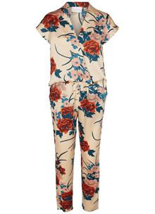 Neo Noir Grace Flower buksedragt