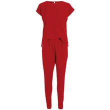 Neo Noir Cleo Tape buksedragt  i rød