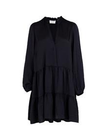 Neo Noir Frederica Soft kjole i navy
