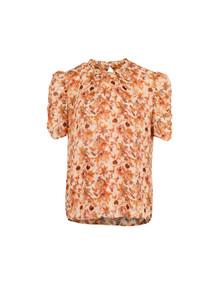 Neo Noir Dorris Golden t-shirt i orange