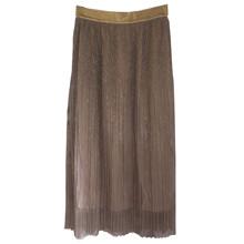 Norr Inez nederdel i guld