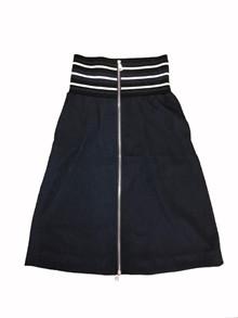 NORR Halin nederdel i navy