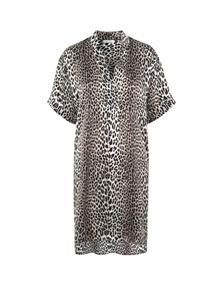 Notes du Nord Melina Silke kjole i leo
