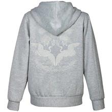 Number Nine Bird Hættetrøje i grå