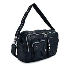 Nunoo Mia stor læder taske i sort