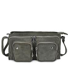 Nunoo lille Stine taske i grå ruskind
