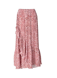 Ravn Kai nederdel i lyserød