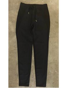 Rue de Femme New Columbine Plain bukser i sort