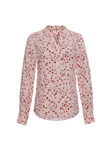 Rue de Femme New Doodle skjorte i lyserød