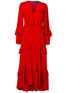 Résumé Joyce kjole i rød