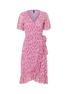 Résumé Lacey kjole i lyserød/rød