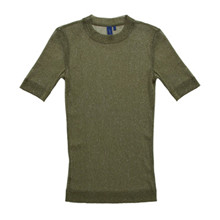 Résumé Aya glimmer T-shirt i olive