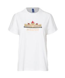 Résumé Budapest Blair T-shirt i hvid
